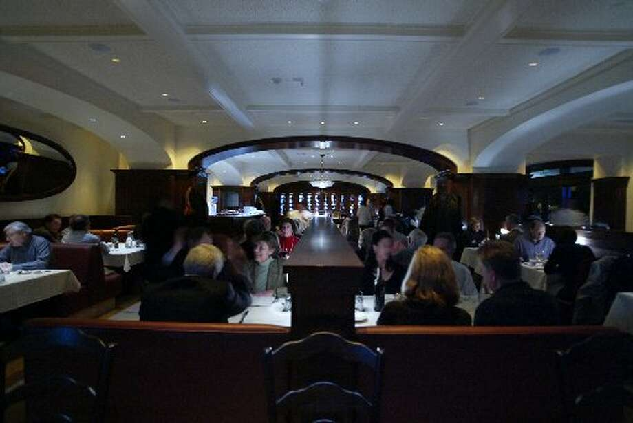 The interior of Poggio. Photo: Chris Stewart, The San Francisco Chronicle 2004
