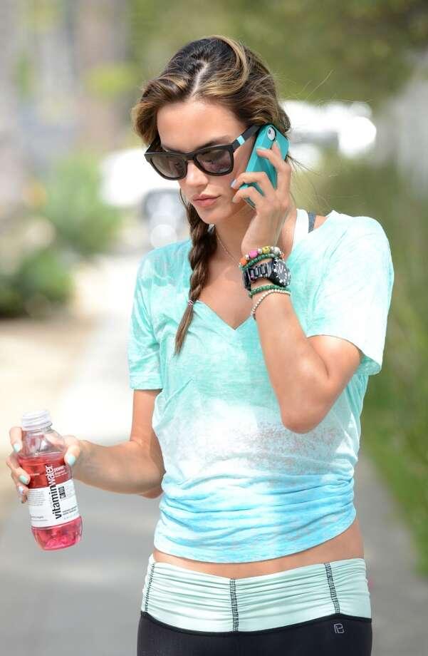 Alessandra Ambrosio is seen jogging in 2012. Photo: Jason Merritt, WireImage
