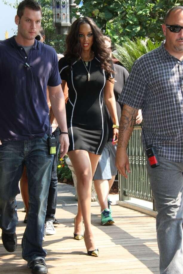 Tyra Banks on July 19, 2013. Photo: GT/Star Max, FilmMagic