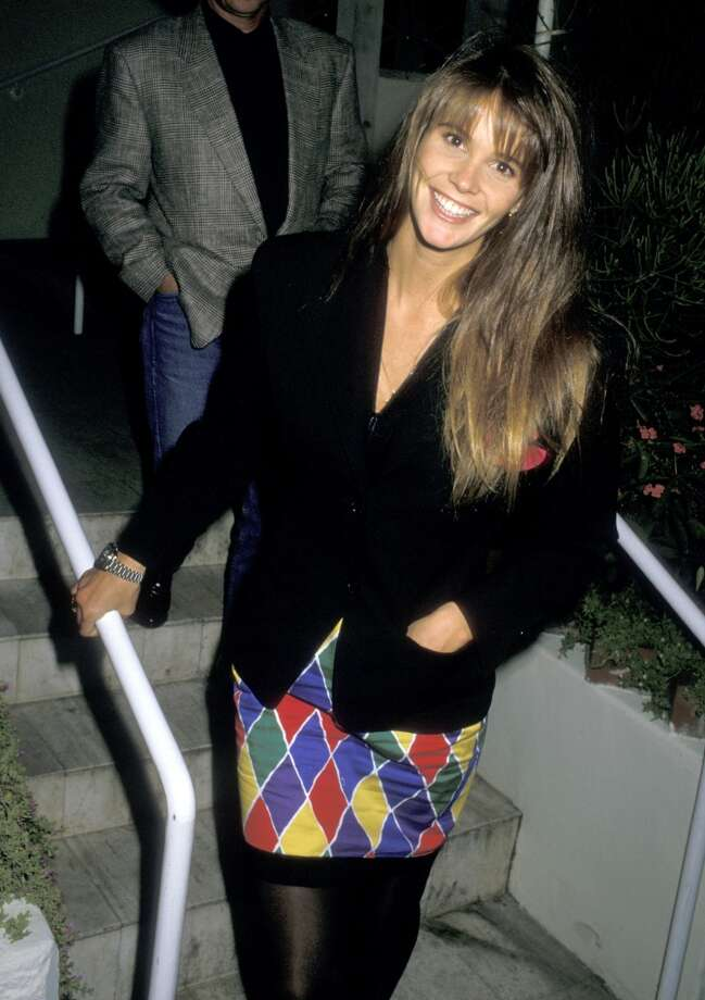Elle Macpherson at the Spago Restaurant in West Hollywood. Photo: Ron Galella, WireImage