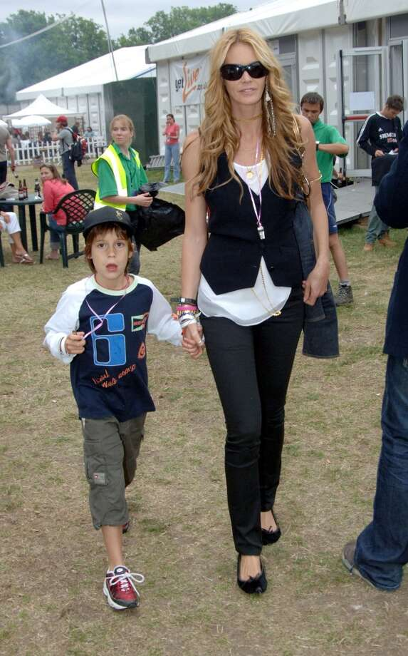 Elle MacPherson at the Hyde Park in London. Photo: Jon Furniss, WireImage