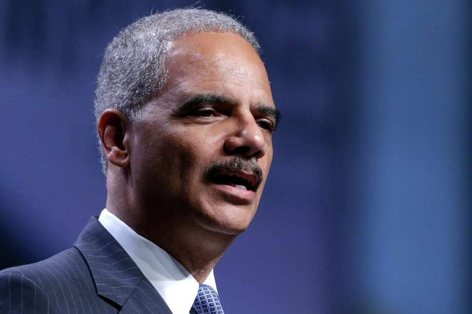 Attorney General Eric Holder speaks at the National Urban League annual conference, Thursday, July 25, 2013, in Philadelphia.  Holder announced Thursday the Justice Department is opening a new front in the battle for voting rights in response to a Supreme Court ruling that dealt a major setback to voter protections. Photo: Matt Rourke