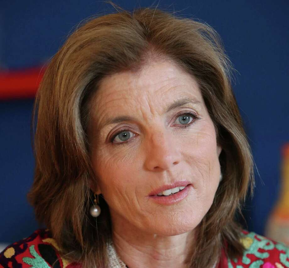 FILE - In this Tuesday, March 26, 2013 FILE photo, Caroline Kennedy speaks during an interview with The Associated Press in New York. AP sources say President Barack Obama is nominating Kennedy as ambassador to Japan. (AP Photo/Mary Altaffer, File) ORG XMIT: WX106 Photo: Mary Altaffer / AP