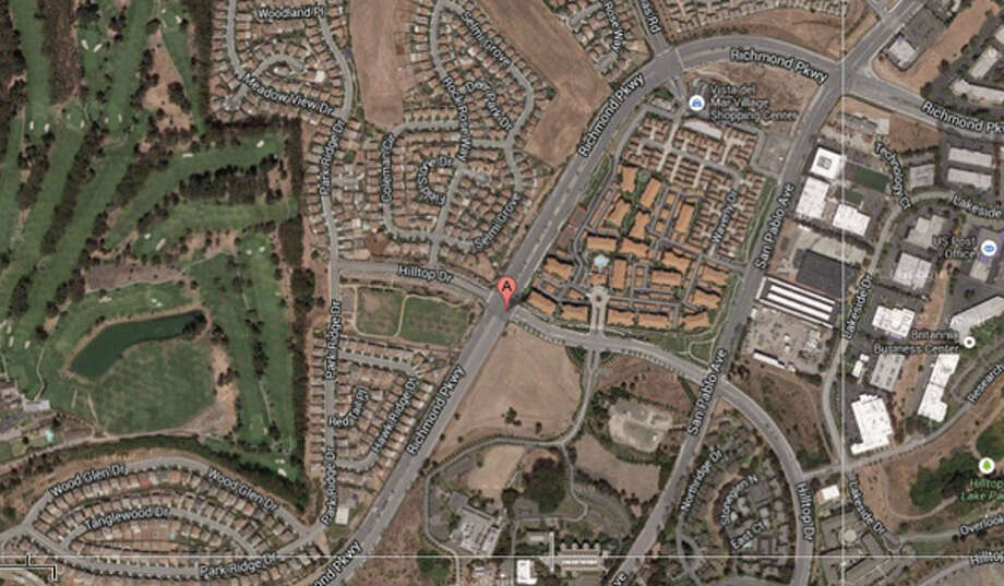 Richmond Parkway and Hilltop Drive, Richmond, CA Photo: Google Maps
