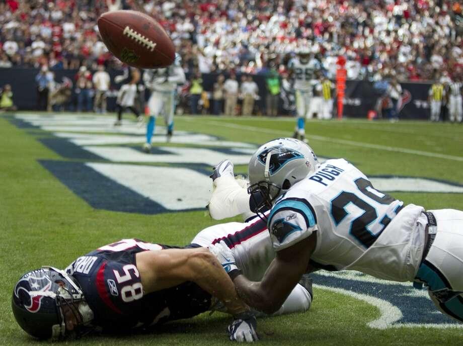 Jordan Pugh, DB, Washington Redskins Photo: Brett Coomer, Chronicle