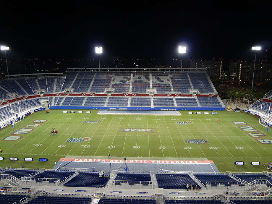 "3) GEO Group Stadium, Florida Atlantic University This name, which stems from a private provider of prisons, was secured for FAU's stadium in early 2013. A nickname for the arena is ""Owlcatraz."" The sponsorship is more of a problem than the name - there's been concerns after questions of inmate treatment in GEO prisons.  Photo: Wikimedia Commons"