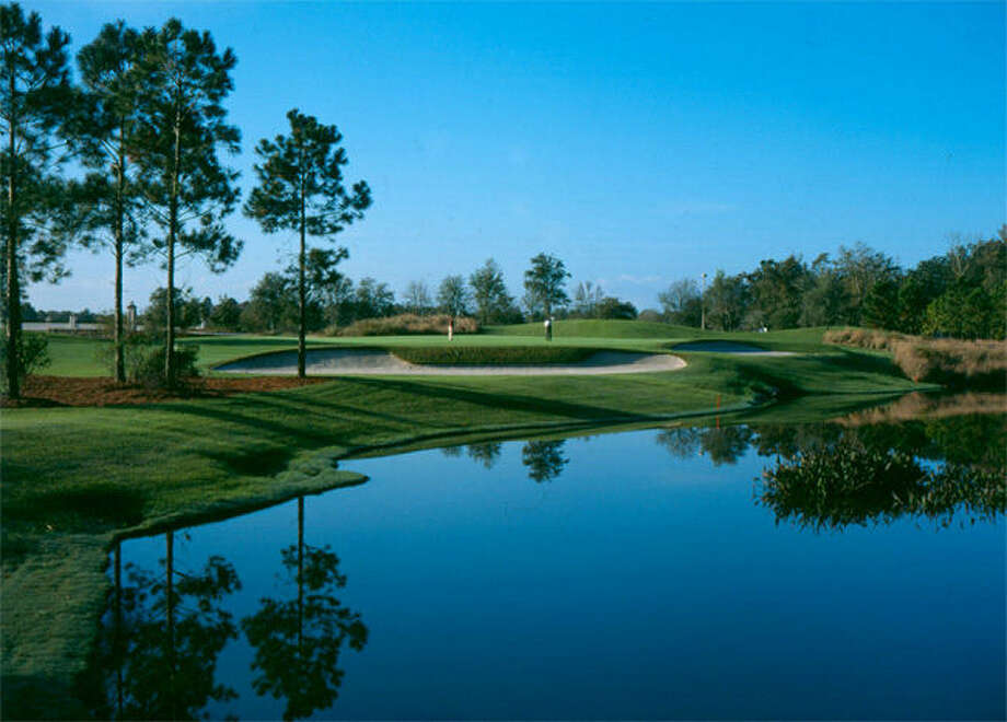 The 6,939-yard Slammer and Squire golf course at the World Golf Village in St. Augustine, Fla., features memorable par-3s, preserved woodlands, wetlands and natural beauty. Photo: Www.worldgolfvillage.com