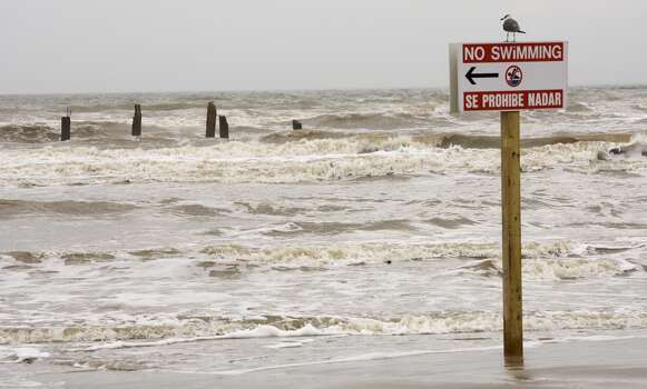 Dec. 22, 2009: Pilings are all that is left of the historic  Balinese Room Pier Tuesday, Dec. 22, 2009, in Galveston. The Galveston  landmark was completely destroyed by Hurricane Ike. Photo: Houston Chronicle