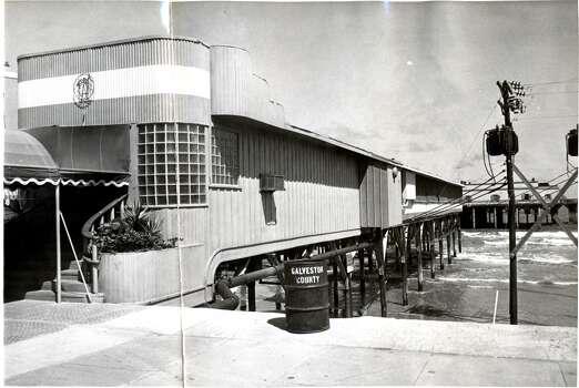 June 10, 1957: The Balinese Room at 2107 Seawall Blvd, Galveston.  Photo: Houston Chronicle Files