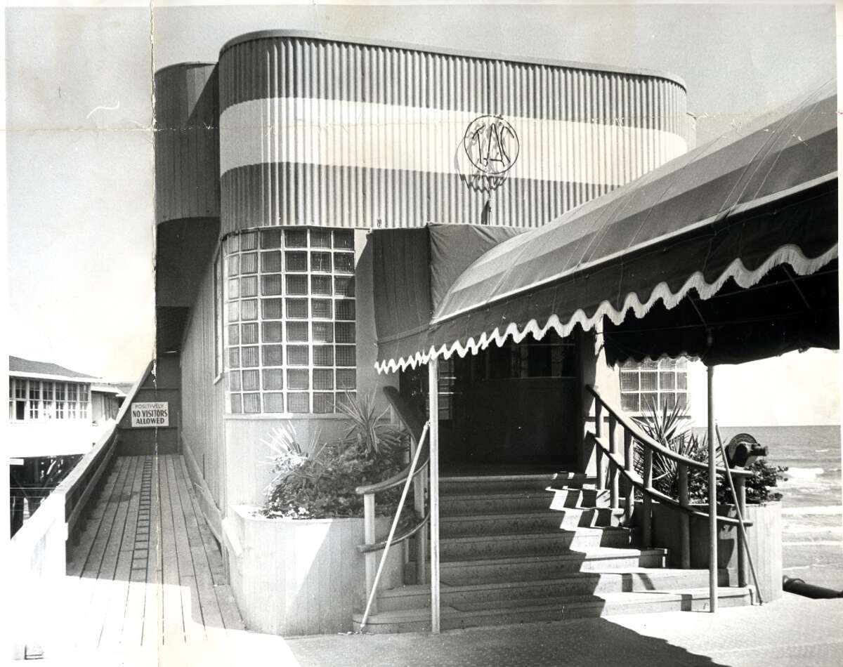 June 10, 1957: The Balinese Room at 2107 Seawall Blvd, Galveston.