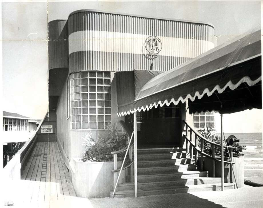 June 10, 1957:The Balinese Room at 2107 Seawall Blvd, Galveston. Photo: Houston Chronicle Files