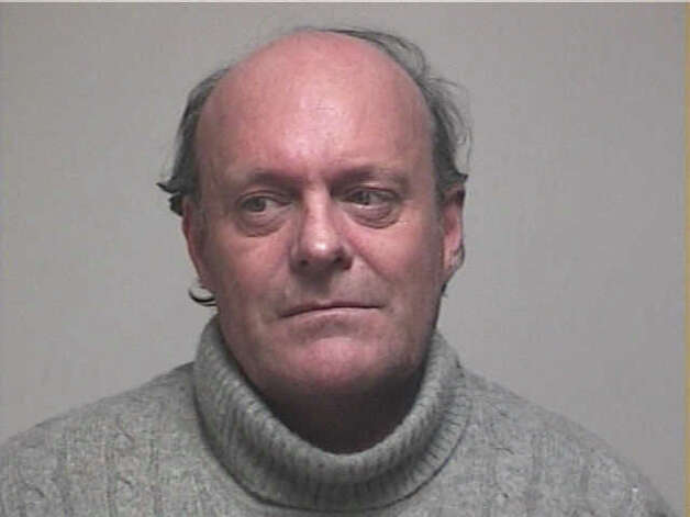 Mark Hayward, of Westport, was arrested Friday, Jan. 13, 2012 by Fairfield police on a warrant for first-degree larceny and third-degree forgery. - 628x471