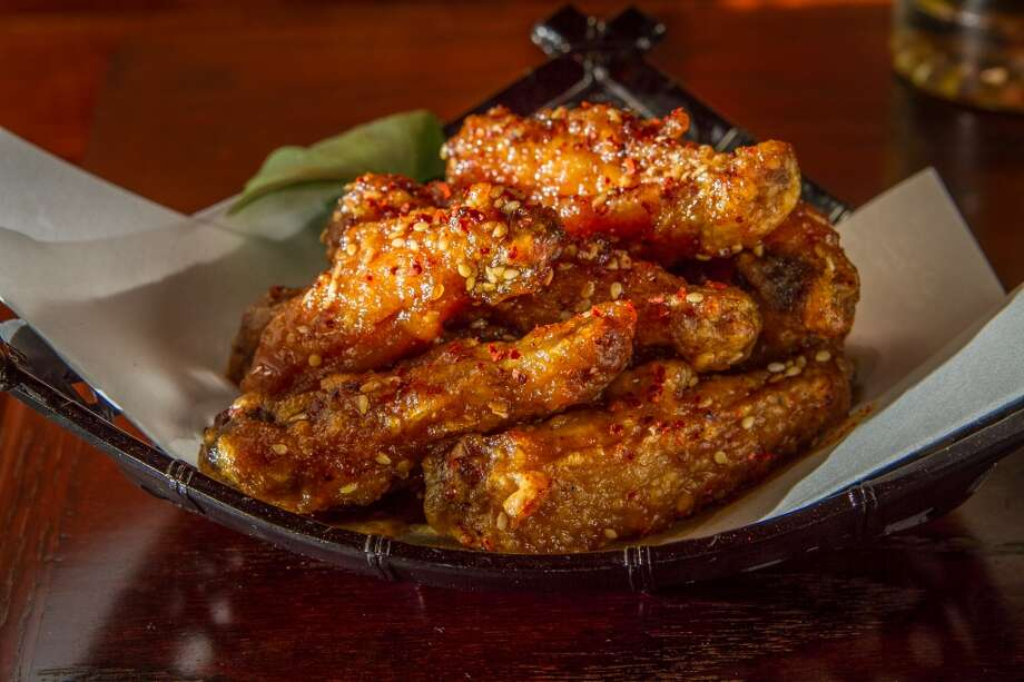 The crispy Chicken Wings at Izakaya Roku in San Francisco. Photo: John Storey, Special To The Chronicle