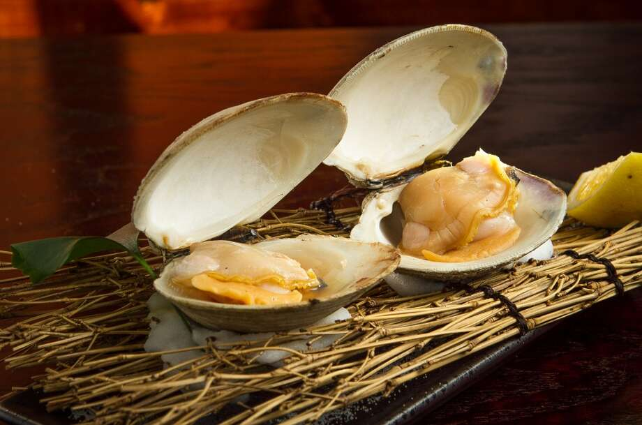 The grilled Jumbo Clam at Izakaya Roku in San Francisco. Photo: John Storey, Special To The Chronicle