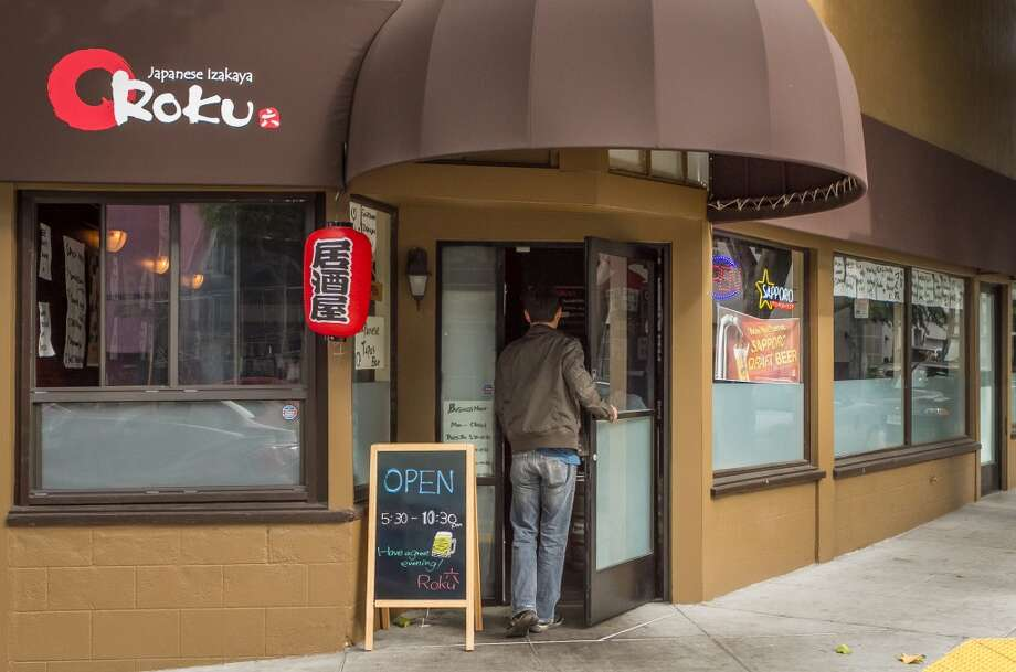 The exterior of Izakaya Roku in San Francisco. Photo: John Storey, Special To The Chronicle