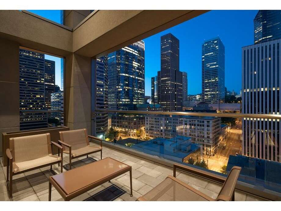 Balcony of 715 2nd Ave., Unit 1504. It's listed for $2.7 million. Photo: Courtesy Julie Biniasz,  Realogics Sotheby's International Realty