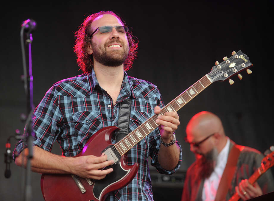 Tim Palmieri performs with the Santana tribute band Borboletta at the 18th annual Gathering of the Vibes Musical Festival at Seaside Park in Bridgeport, Conn. on Thursday, July 25, 2013. Photo: Brian A. Pounds / Connecticut Post freelance