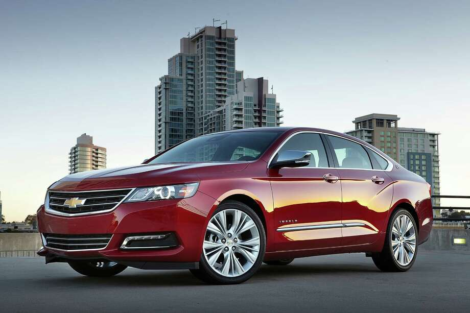2014 Chevrolet ImpalaMSRP: Starting at $26,860Source: Kelley Blue Book Photo: Uncredited, Associated Press / Chevrolet