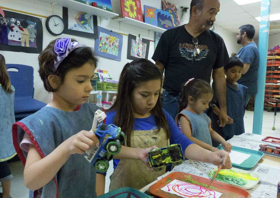 Artworks Art Studio is offering weeklong art camps at both locations. Photo: Express-News File Photo