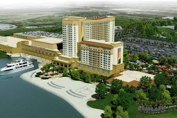 A rendering of the Lake Charles Golden Nugget which will open next year.