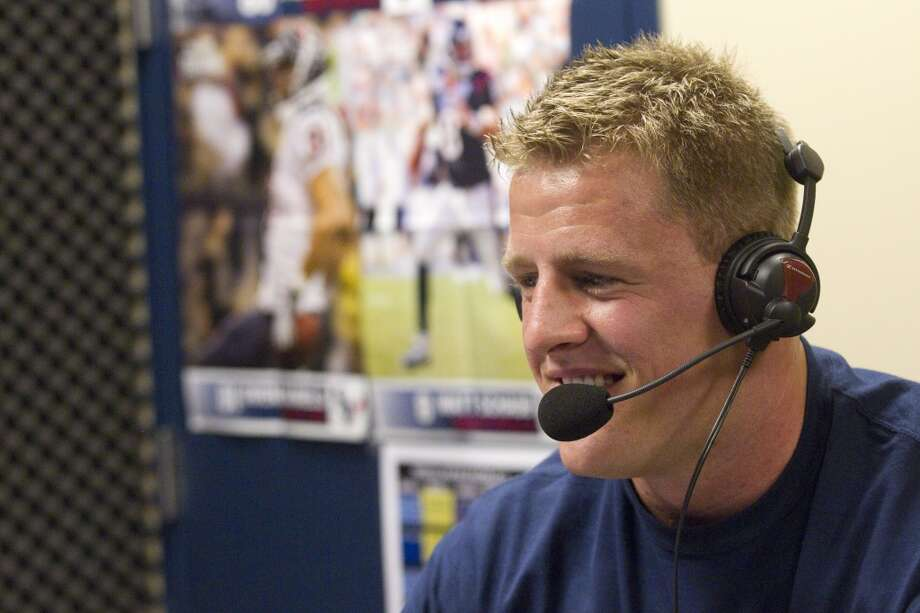 "PHOTOS: Look inside J.J. Watt's Wisconsin cabinThe Houston Texans' J.J. Watt is the subject of a two-part interview on the Barstool Sports podcast ""Pardon My Take.""Browse through the photos above for a look inside J.J. Watt's $800,000 cabin in Wisconsin. Photo: Brett Coomer, Chronicle"