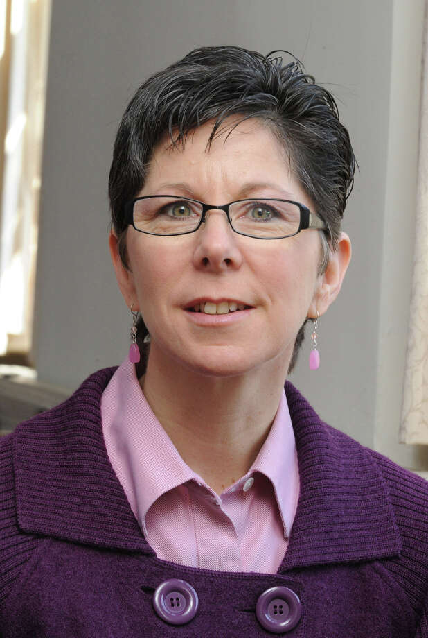 FORUM ON FAITH: Rev. Laura Westby, now interim minister of the Bethel Congregational Church as seen when then-pastor of First Congragational Church of Danbury, Monday, March 8, 2010. Photo: Carol Kaliff, ST / The News-Times