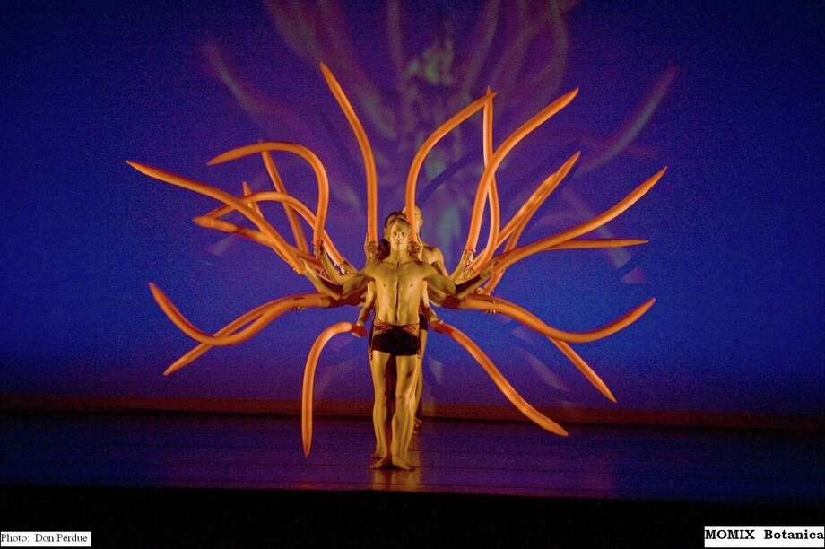 The fantastical, multi-media artistry of MOMIX comes to the Saratoga Performing Arts Center in August. (SPAC)