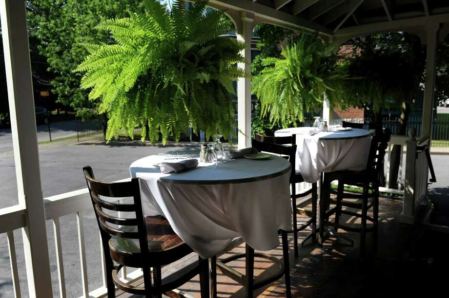 The Brook Tavern. 139 Union Ave., Saratoga Springs.Porch seating on Friday, July 19, 2013, at The Brook Tavern in Saratoga Springs, N.Y. (Cindy Schultz / Times Union) Photo: Cindy Schultz / 00023232A
