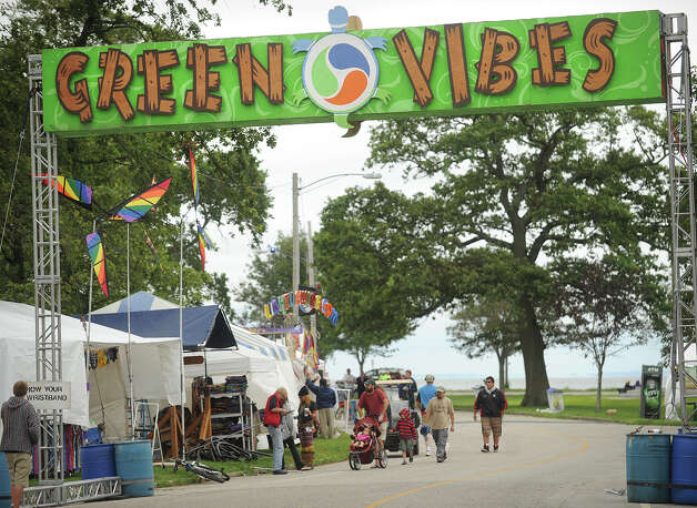 The 18th annual Gathering of the Vibes Musical Festival at Seaside Park in Bridgeport, Conn. on Thursday, July 25, 2013. Photo: Brian A. Pounds / Connecticut Post freelance