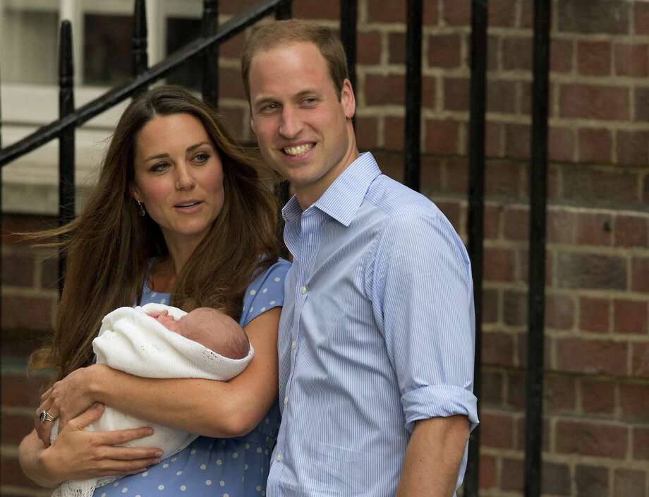 If nothing changes, the son of Prince William and the Duchess of Cambridge one day will reign as head of state of 13 nations. Photo: Matt Dunham, Associated Press