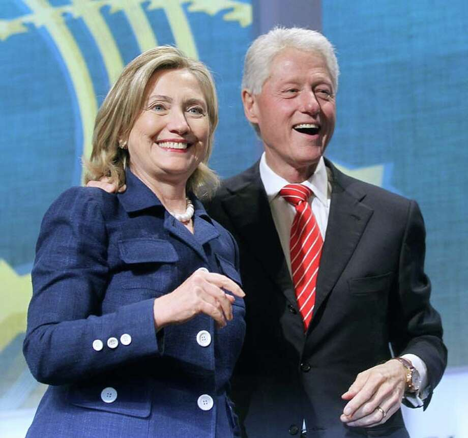 Let's start with the obvious: Hillary Clinton is perhaps the poster wife of wives who stand by their men during political sex scandals. 