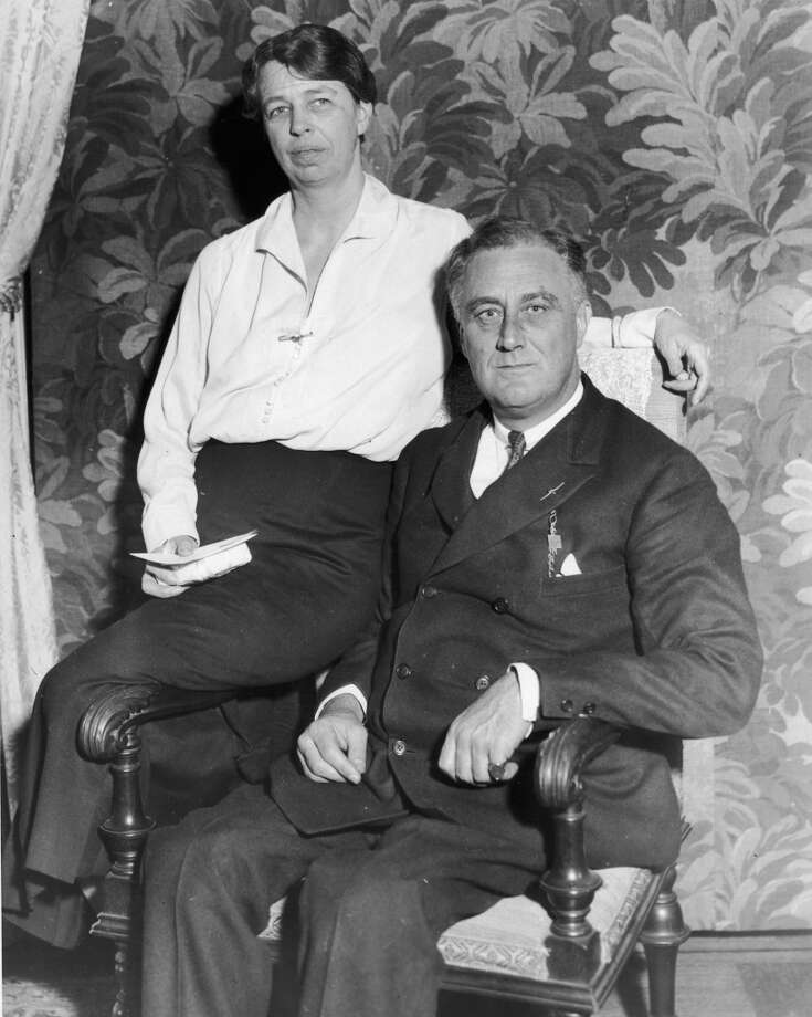 Eleanor Rooseveltknew of her husband Franklin D. Roosevelt's long-time extramarital affair, but stayed with him for the sake of his political career. Photo: New York Times Co., Getty Images