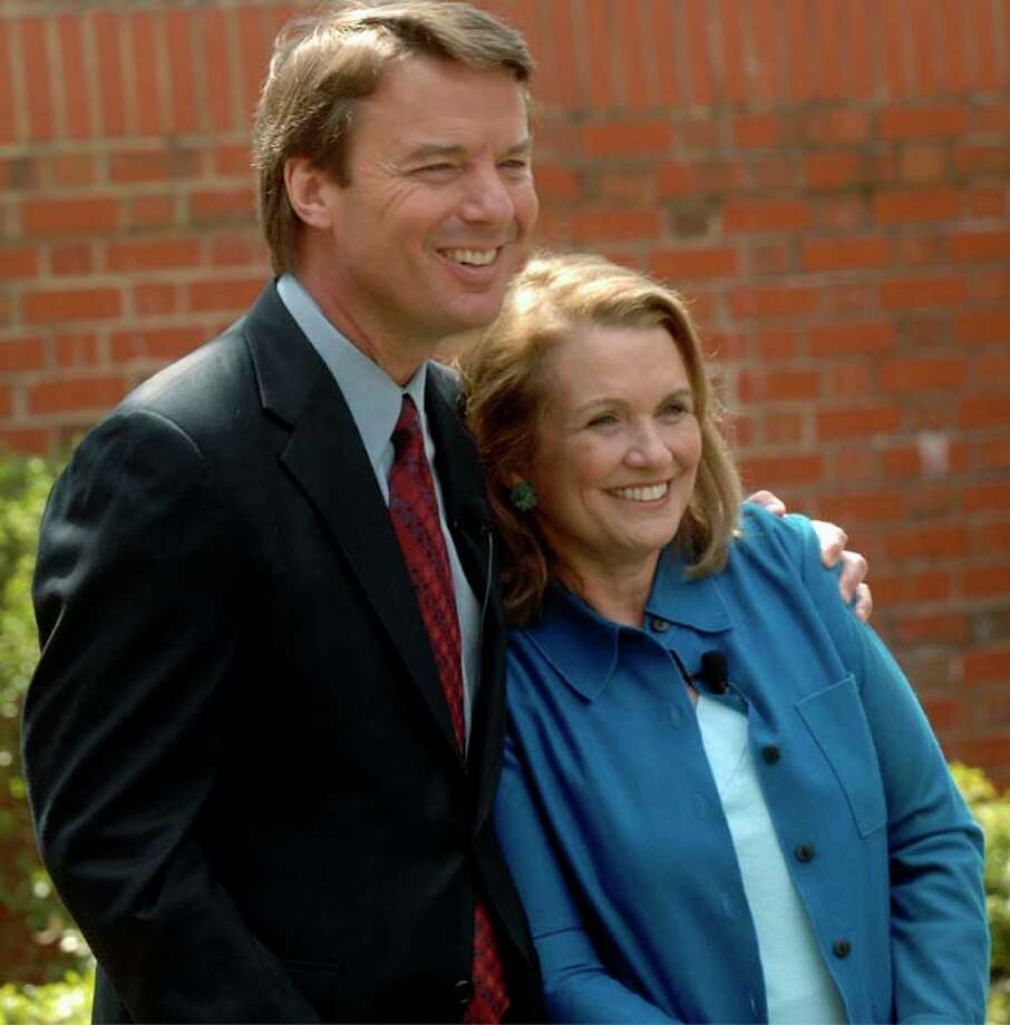 Elizabeth Edwards  originally stood by her man, John Edwards, until it was revealed he continued to lie about his affair and the baby that resulted. She died in December 2010 from breast cancer nearly a year after her husband publicly admitted he fathered a baby.   Photo: Sara Davis, Getty Images / 2007 Getty Images
