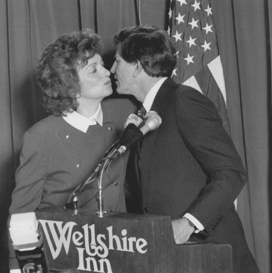 Gary Hart was running for president when photos of him on vacation with a much younger model emerged. His wife, Lee, stayed with him. Photo: Dave Buresh, Denver Post Via Getty Images