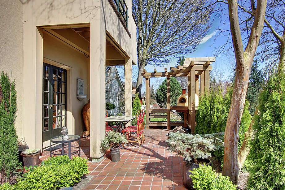 Patio of 3822 S. Court St. It's listed for $960,000. Photo: Jenni Jenkins With Vicaso, Courtesy Adam Morrow, Sound Counsel Realty