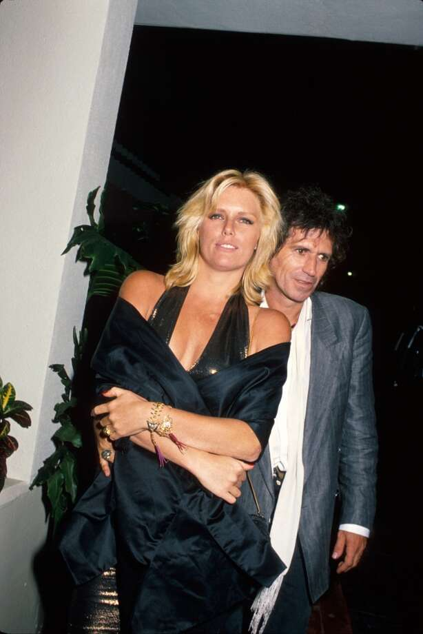 Model Patti Hansen and husband, musician Keith Richards. Photo: Kevin Winter, Time & Life Pictures/Getty Image