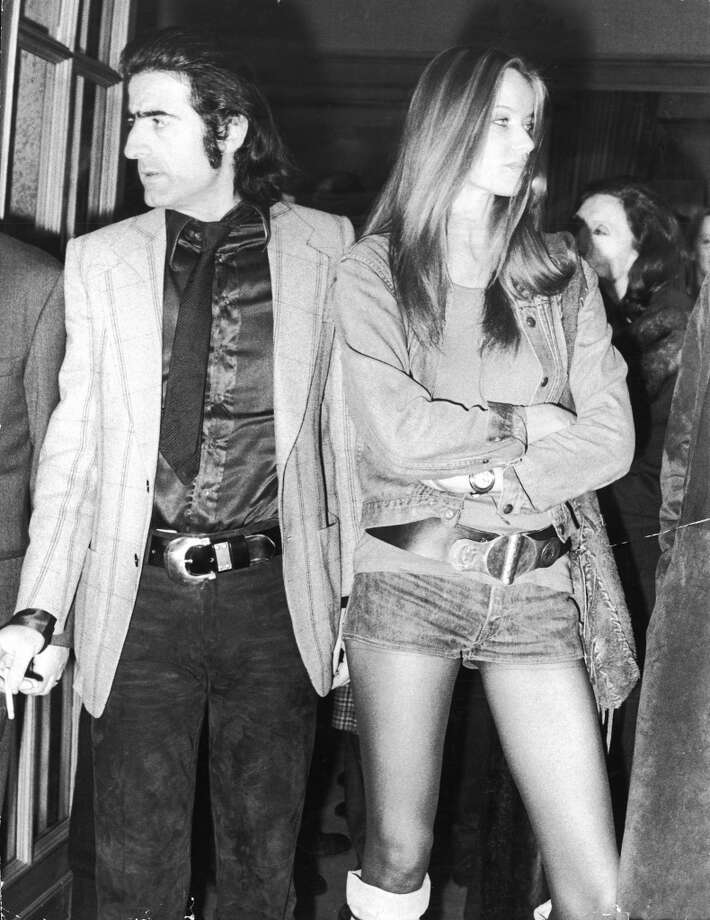 Italian director and photographer Franco Rubartelli and German countess and fashion model Veruschka in 1971. Photo: Hulton Archive, Getty Images
