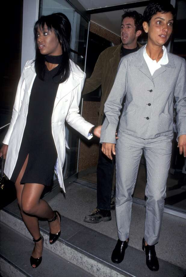 Naomi Campbell and Ingrid Casaras in 1995. Photo: Ron Galella, Ltd., WireImage