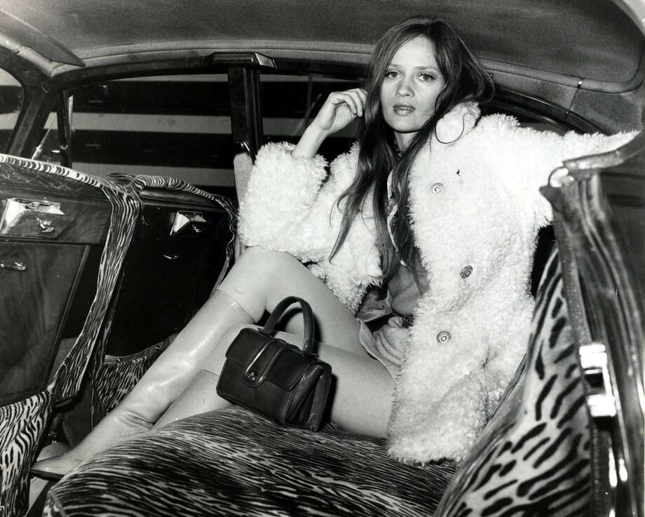 Top model Celia Hammond pictured at London's Heathrow Airport in 1970. Photo: Bentley Archive/Popperfoto, Popperfoto/Getty Images