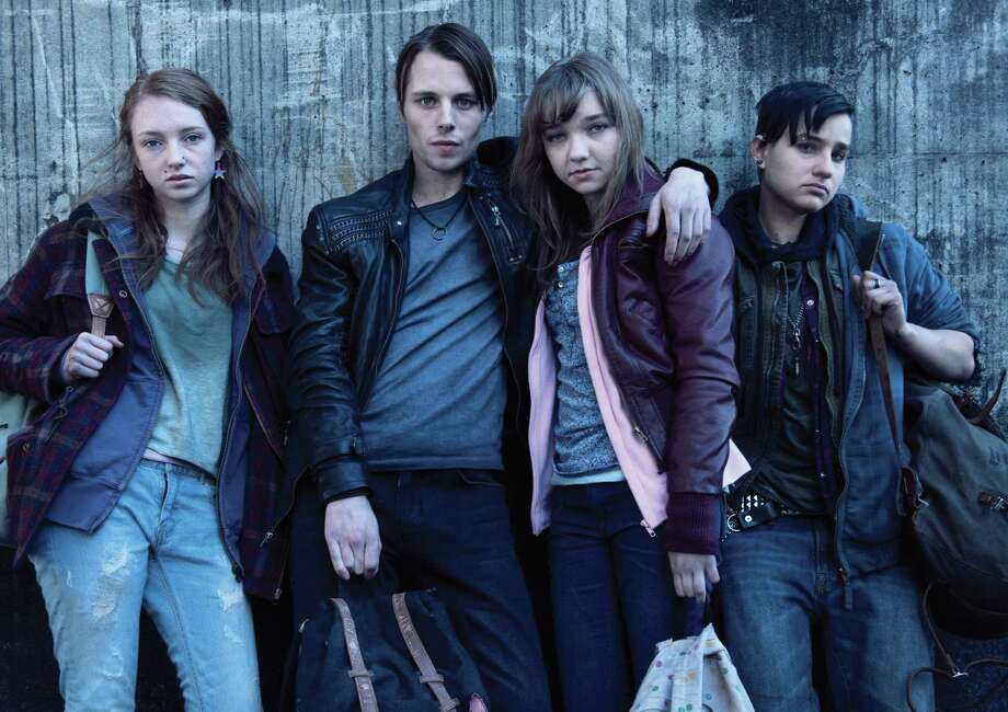 "The young actors who portray some of the tragic teenage runaways — Cate Sproule, Max Fowler, Julia Sarah Stone and Bex Taylor-Klaus as ""Bullet"" — have made Season 3 of 'The Killing' particularly heart-rending. Photo: AMC Photos"