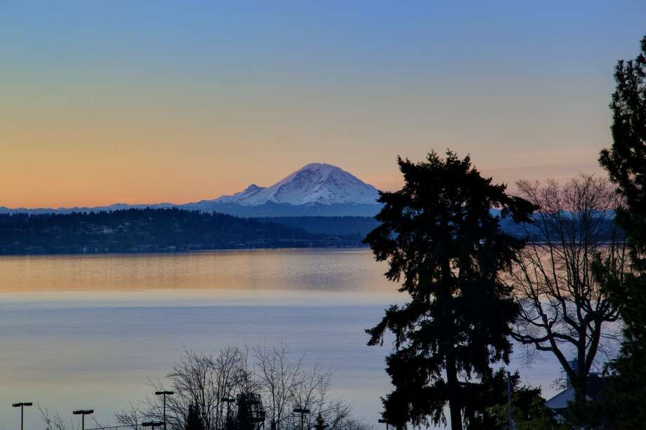 View from 1101 McGilvra Boulevard E. It's listed for $2.85 million. Photo: Matt Edington, Clarity Northwest, Courtesy Chris Sudore, King County Estates, Coldwell Banker Bain
