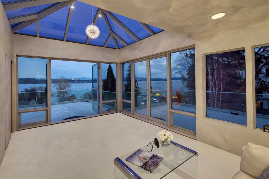 """Cloud room"" of 1101 McGilvra Boulevard E. It's listed for $2.85 million. Photo: Matt Edington, Clarity Northwest, Courtesy Chris Sudore, King County Estates, Coldwell Banker Bain"