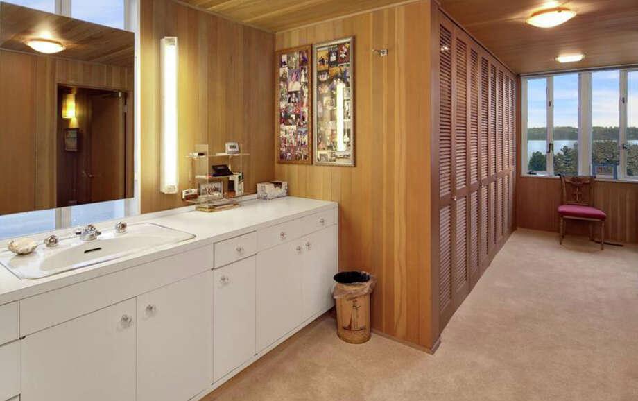 Bathroom of 1101 McGilvra Boulevard E. It's listed for $2.85 million. Photo: Matt Edington, Clarity Northwest, Courtesy Chris Sudore, King County Estates, Coldwell Banker Bain