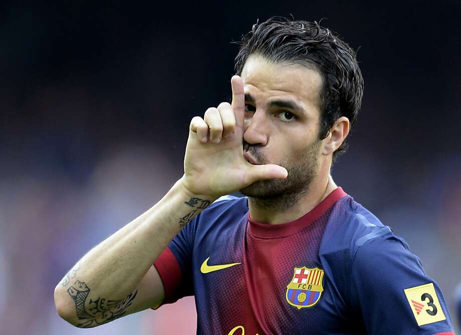 Manchester United covets Barcelona's Cesc Fabregas to the tune of nearly $60 million, according to some reports. Photo: Lluis Gene, AFP/Getty Images