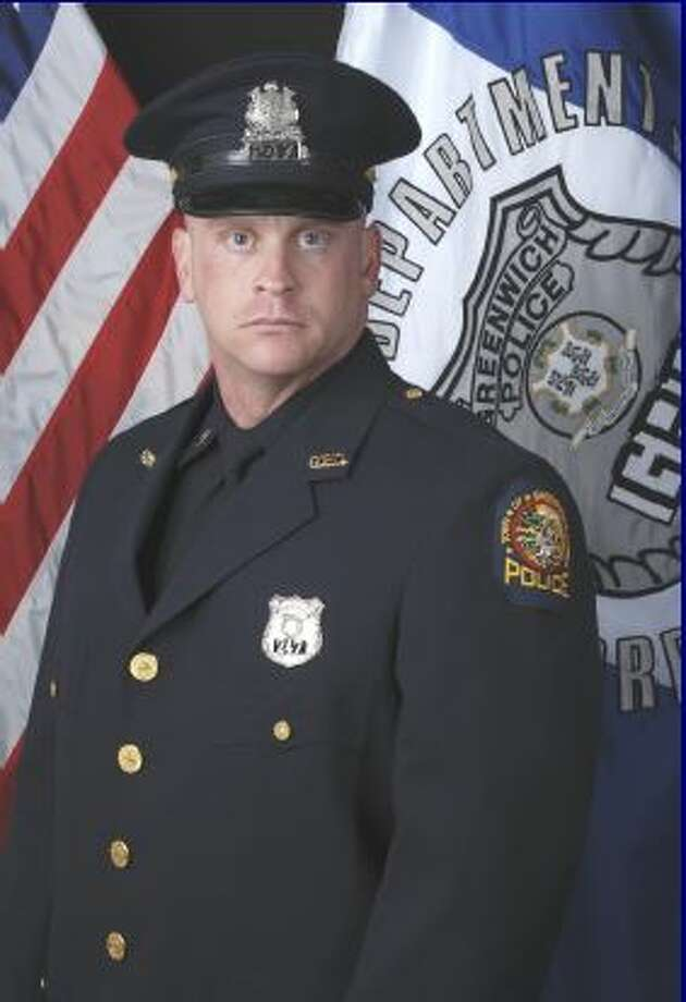 Officer Daniel Hendrie is the Greenwich Police Department's officer of the month. Photo: Contributed Photo