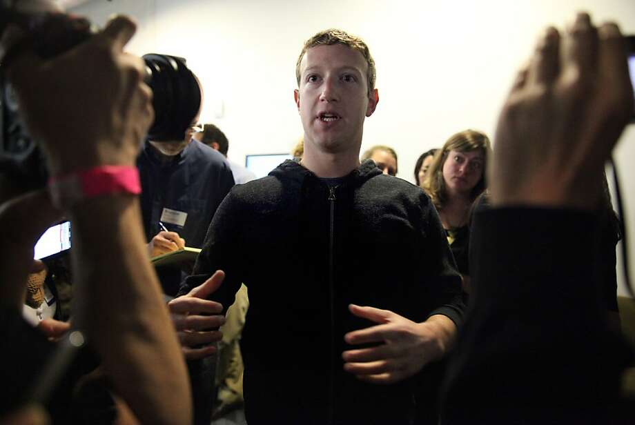 Facebook CEO Mark Zuckerberg will speak publicly for the first time on immigration change at the premiere of a film. Photo: Lea Suzuki, The Chronicle