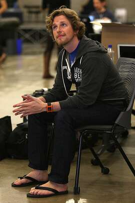 Wordpress founder Matt Mullenweg in his new office building in San Francisco, Calif., on Wednesday, July 24, 2013.