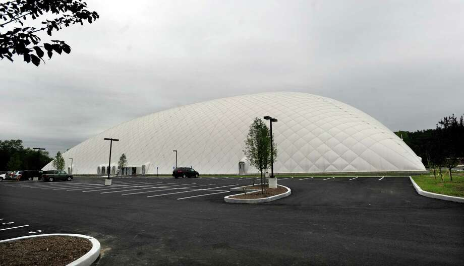 The Danbury Sports Dome has opened on Shelter Rock Lane, in Danbury, Conn. Photo: Carol Kaliff / The News-Times