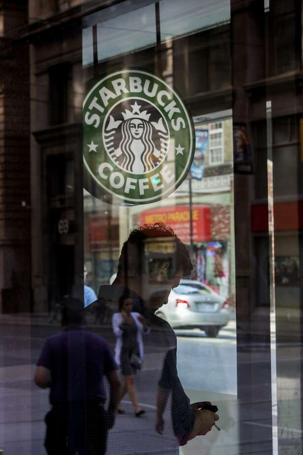 Although coffee is still at Starbucks' core, it is offering a wider range of food and beverages. Photo: Brent Lewin, Bloomberg