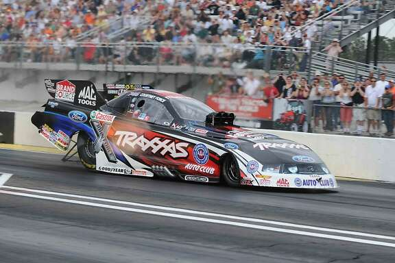 Courtney Force is following in her father's NHRA tire tracks.